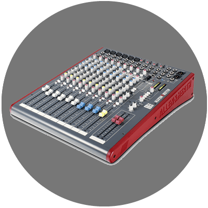 Hire Allen and Heath Z12FX mixing desk Melbourne