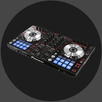 Pioneer DDJ-SR 2 channel Serato DJ controller mixer