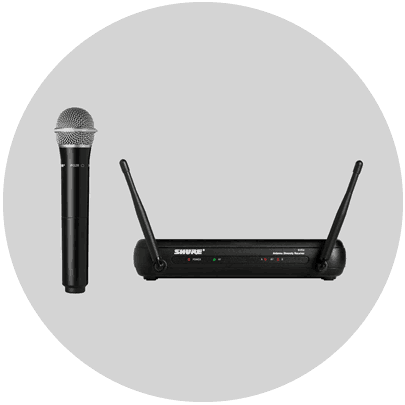 shure pg28 wireless microphone system