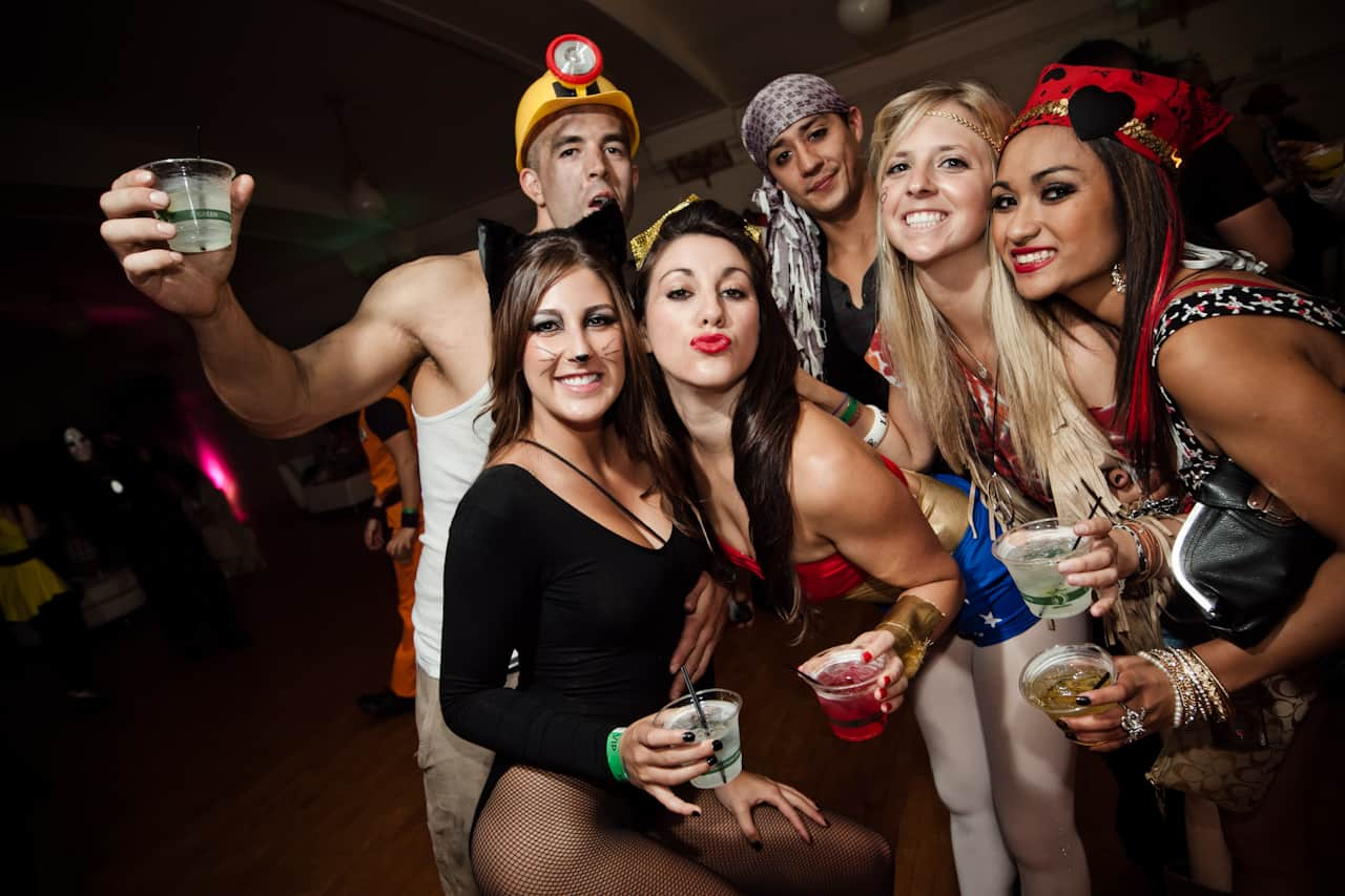 party secrets themed party Melbourne costume dressup