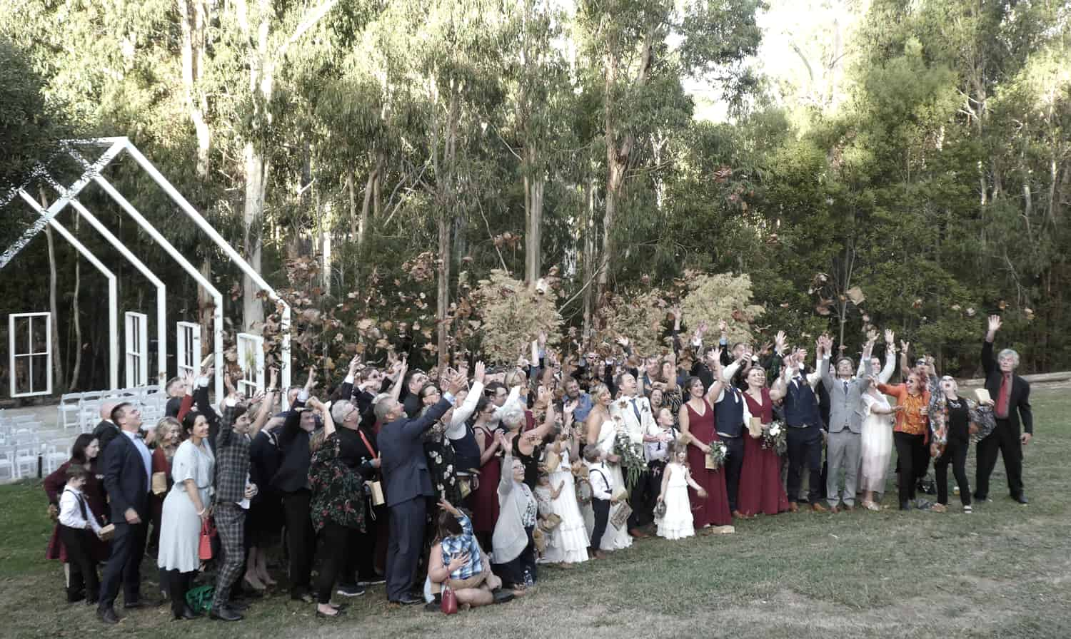 yarra valley estate best weddding ceremony venue acoustic duo