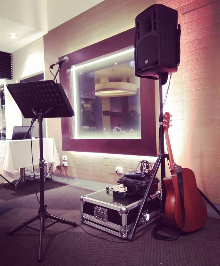 melbourne corporate events entertainment musician singer guitarist background music