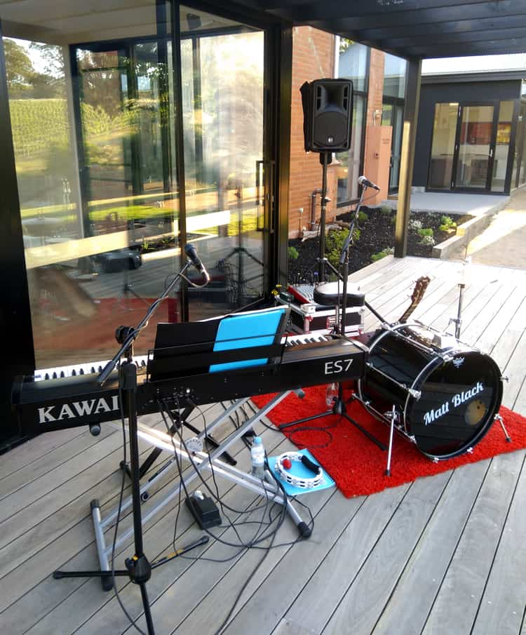 wedding duo melbourne background music piano singer guitarist drums keys