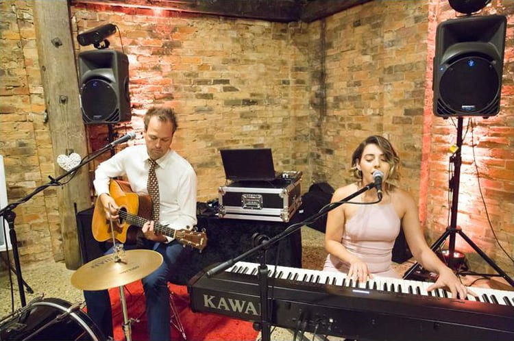 wedding duo melbourne reception music piano singer guitarist drums