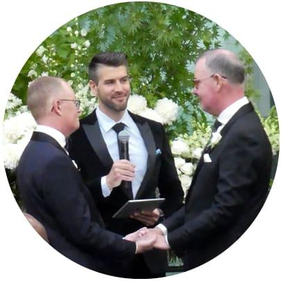 gay wedding grand hyatt melbourne same sex marriage musicians acoustic duo