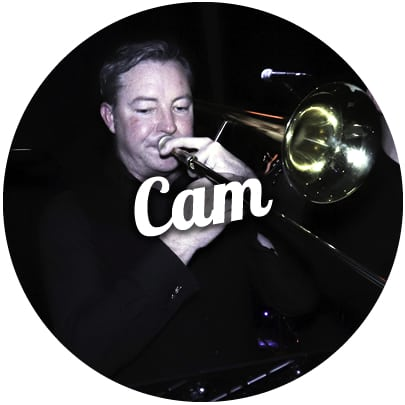 Cameron Lobb Melbourne trombone player weddings corporate events
