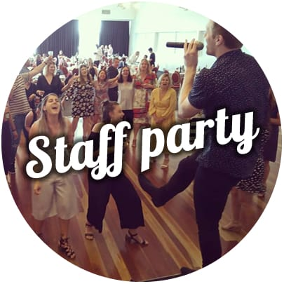 band for staff party in melbourne corporate events dj