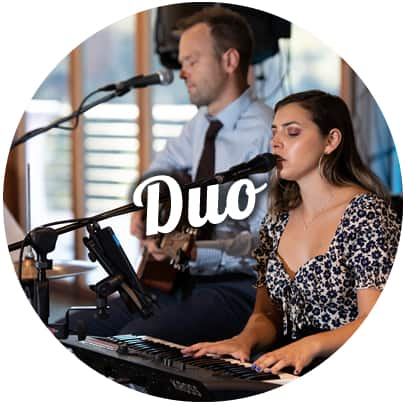 best acoustic duo in melbourne wedding ceremony and reception corporate events
