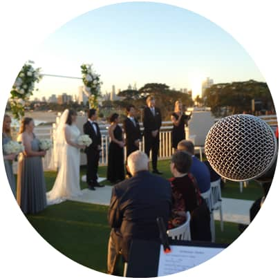 harbour room st kilda wedding ceremony