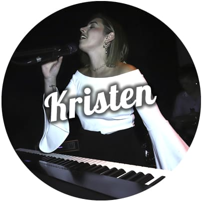 kristen melbourne wedding ceremony singer pianist