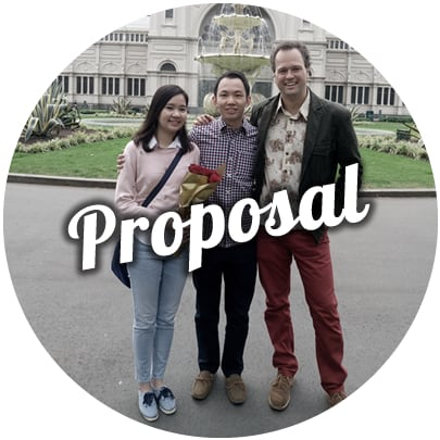 marriage proposal ideas melbourne hire a musician flowers exhibition building