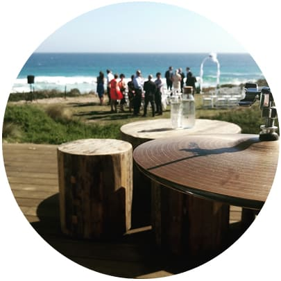 wedding dj at reception cape kitchen phillip island