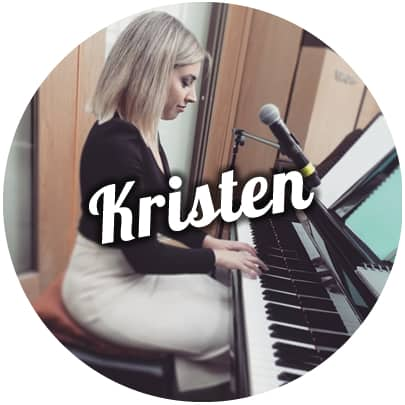 wedding singer melbourne kristen piano ceremony corporate events