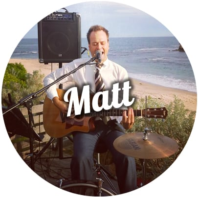 wedding singer melbourne solo guitarist ceremony matt black music for corporate events