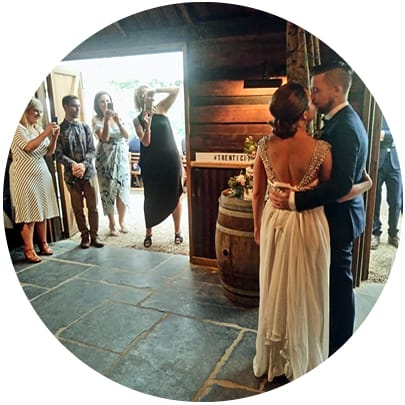 best small wedding venues in Melbourne wedding band
