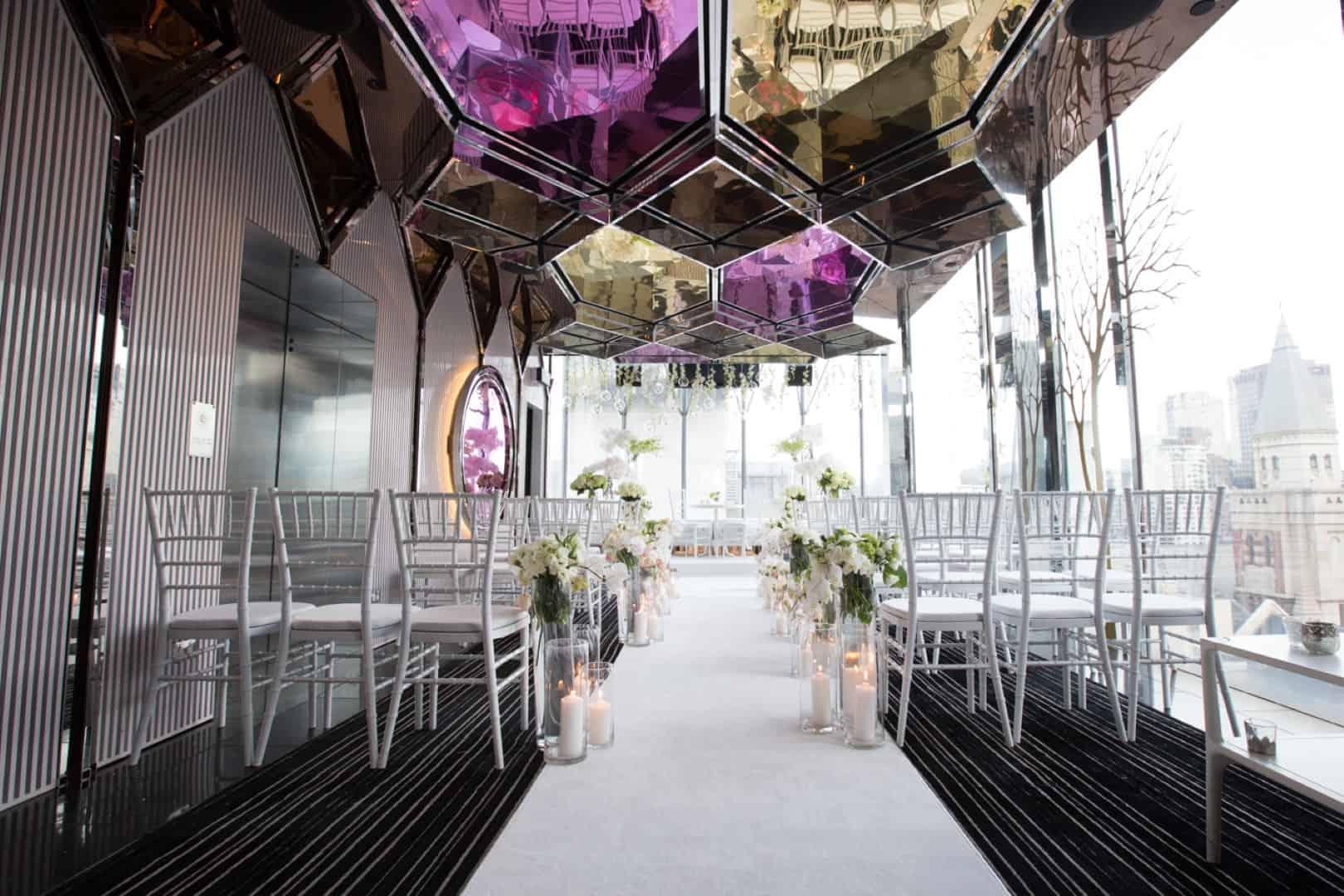 mon bijou penthouse melbourne best small wedding venues