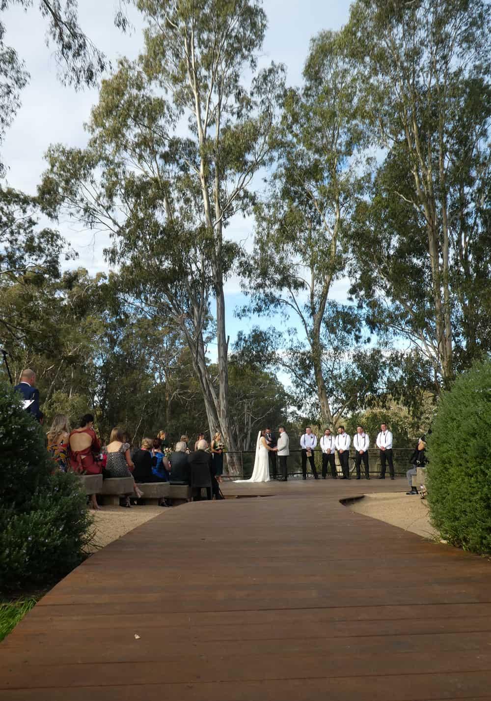 mitchelton winery wedding ceremony venue country victoria